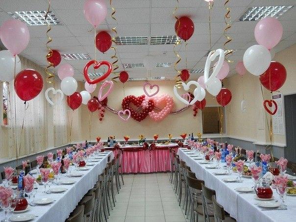 Оформление свадебного зала своими руками пошагово