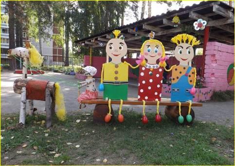 Дизайн участка для детей