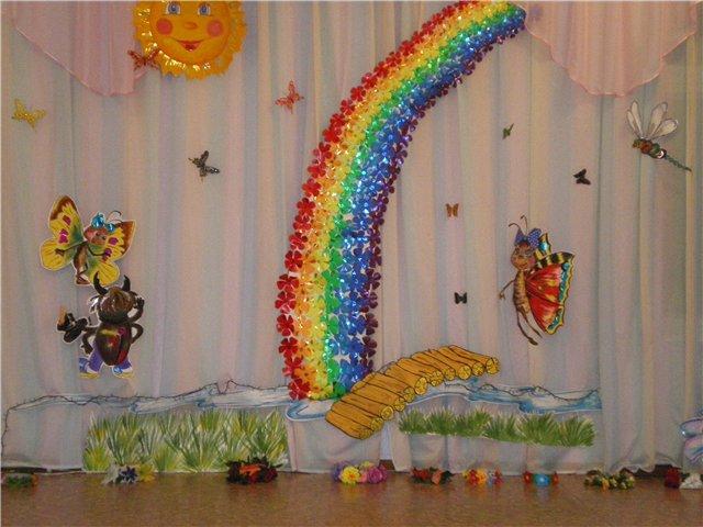 319Своими руками оформление музыкального зала в детском саду на юбилей детского сада